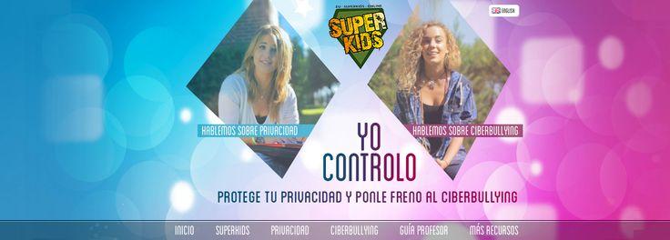 Recurso para trabajar la prevención del #ciberbullying en el aula: http://www.superkidsonline.es