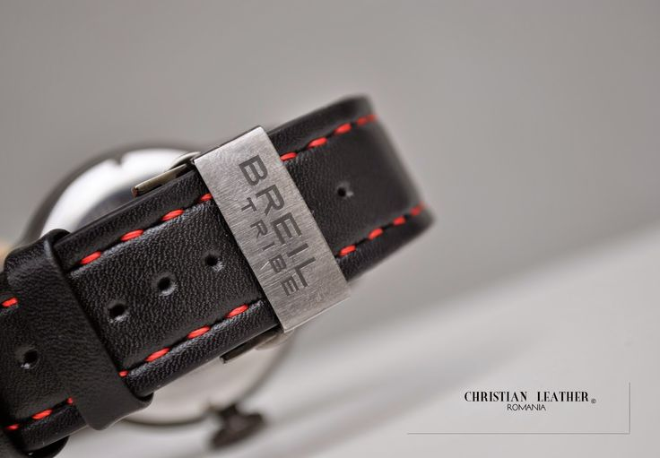 #Handmade #Leather #Strap for #BREILTRIBE #Watch Hand crafted, hand stitched.   Business inquiries & orders at: ~ christianstraps@gmail.com or cureledeceas@gmail.com ~ Whatsapp: +40 737 472 022 ~~Instagram: christianstraps  #curea de #ceas din #piele