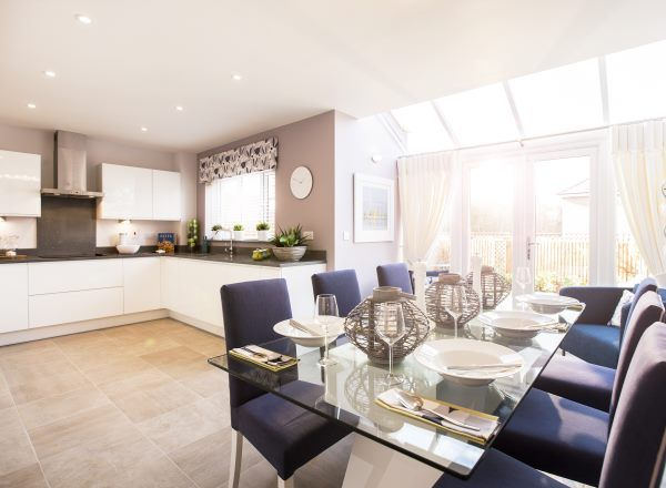 Kitchen @ Brooklands, Stoke on Trent by Bloor Homes
