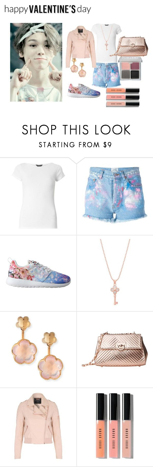 """""""V- Day with Vernon"""" by roseyfox ❤ liked on Polyvore featuring Dorothy Perkins, Forte Couture, NIKE, Belk Silverworks, Pasquale Bruni, Gabriella Rocha, Jane Norman, Bobbi Brown Cosmetics, MILK MAKEUP and kpop"""