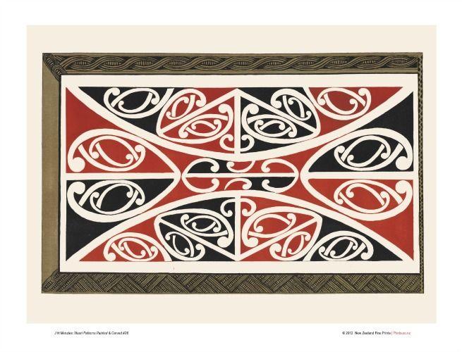 Maori Patterns Design 26