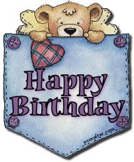 birthday pocket bear animated