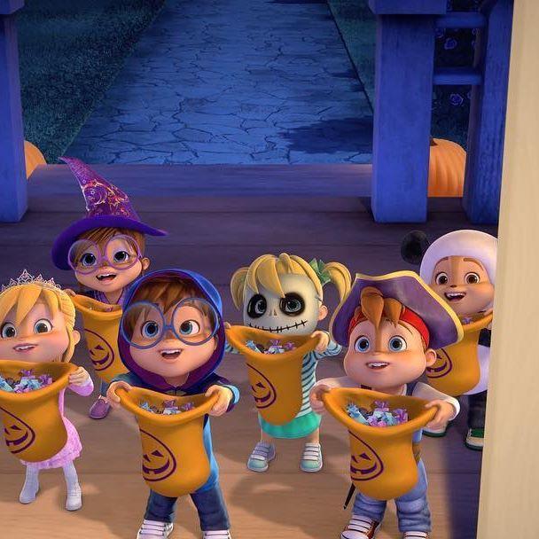 Trick Or Treat Alvinnn Halloween Chipmunks Candy Costume