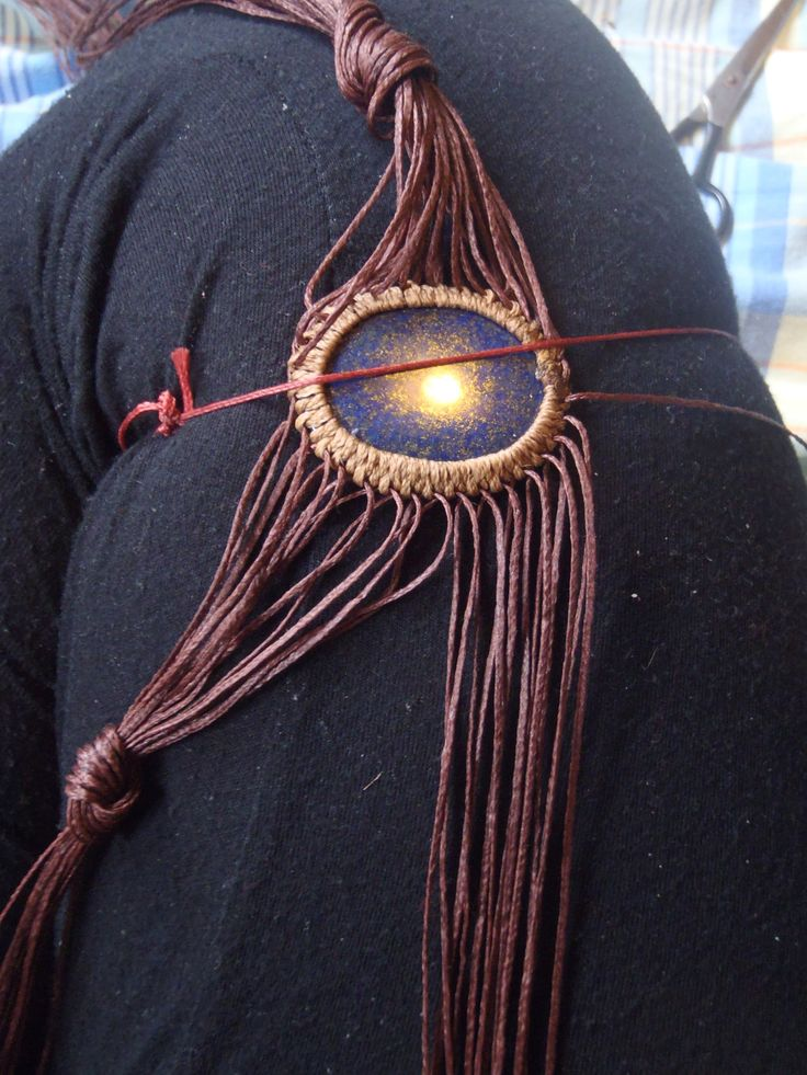 These workshop *how to's* are in responce to a tutorial request from the wonderful lady at CosmicNomad after she saw this Fire-Pheonix Bloodstone, Brass and Macrame handpeice for sale on my E…