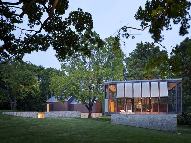 Country Estate Restoration by Roger Ferris + Partners: Wiley House, Partners, Philip Johnson, Country Estate, Architecture, Homes, Design