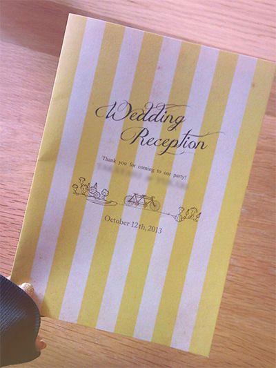 プロフィールブック の画像|nico◡̈*blog 手作り結婚式