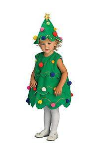 Toddler Little Christmas Tree Costume