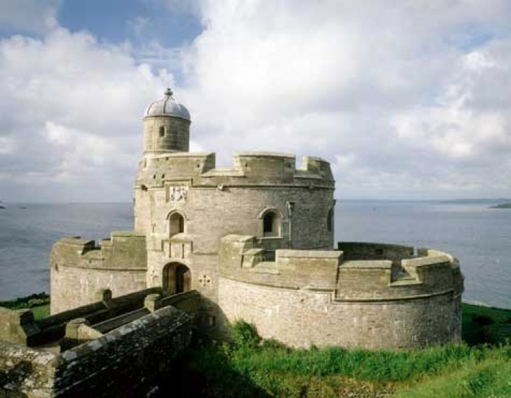 St Mawes Castle wedding venue in St Mawes, Cornwall