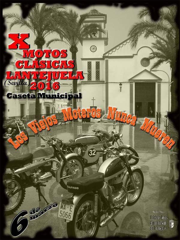 X Motos Clásicas Lantejuela - Lantejuela (Sevilla)
