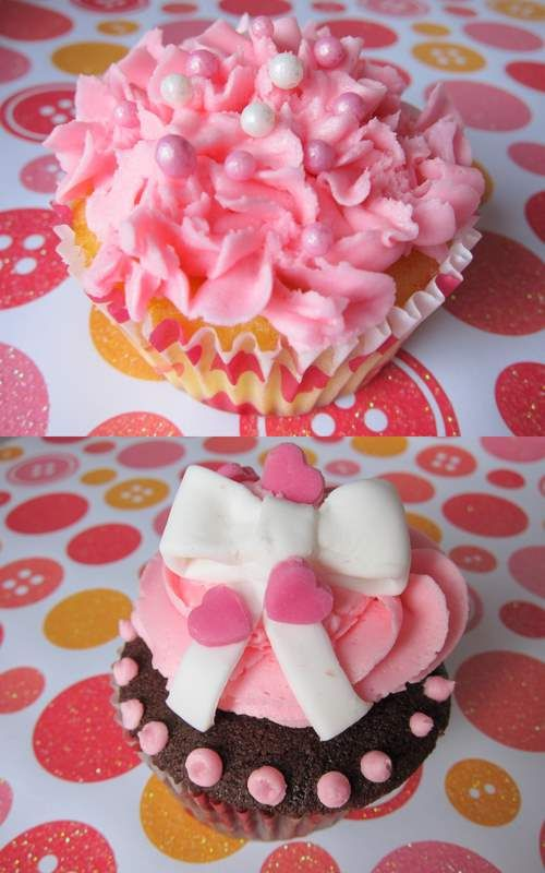 131 best Valentines Day cupcakes images on Pinterest  Birthday