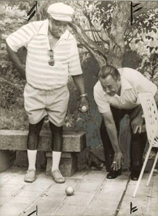 COUNT BASIE & CAB CALLOWAY (from thehidehoblog.com collection!)