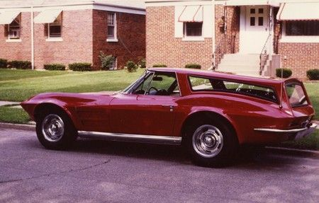 1964 Corvette transformed into a shooting brake, a la the Harold and Maude Jaguar hearse. According to the ad, it came with a 327 and four-speed, plus it had new tires, shocks, brakes, carburetor, bumpers and exhaust. $3,200 in Indiana. Yet the ad didn't mention the station wagon conversion. Perhaps they were just on every street corner at the time, so the only real way to differentiate it from the others is with new shocks.