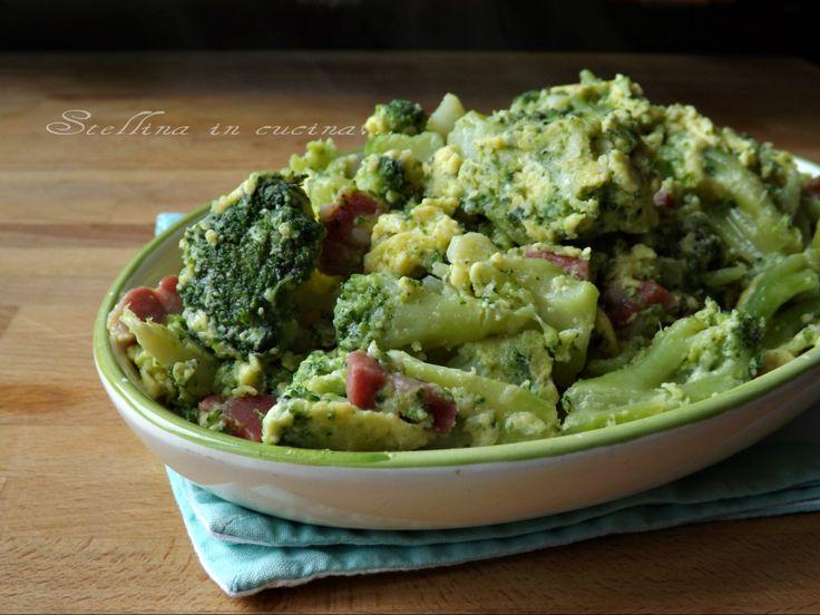 Broccoli alla carbonara