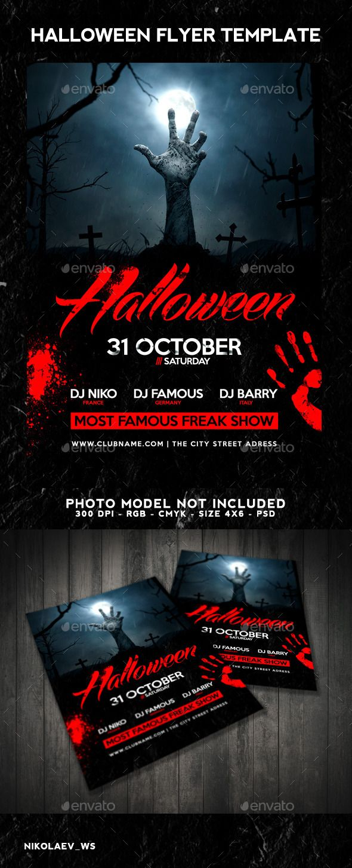 37 best flyers halloween templates images on pinterest