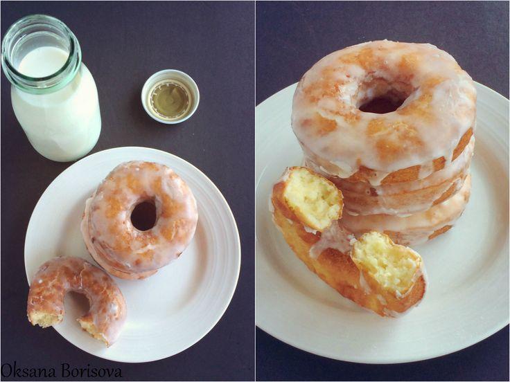 Кулинарные моменты: Американские Донатсы (Old Fashioned Sour Cream Doughnuts)