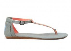 Brandmission: Sandaal playa denim neon