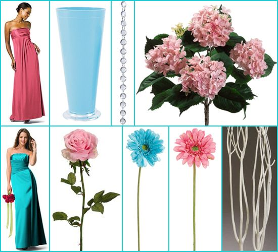 Turquoise Fuchsia Wedding: 83 Best My Wedding Previews For May 2013 Images On
