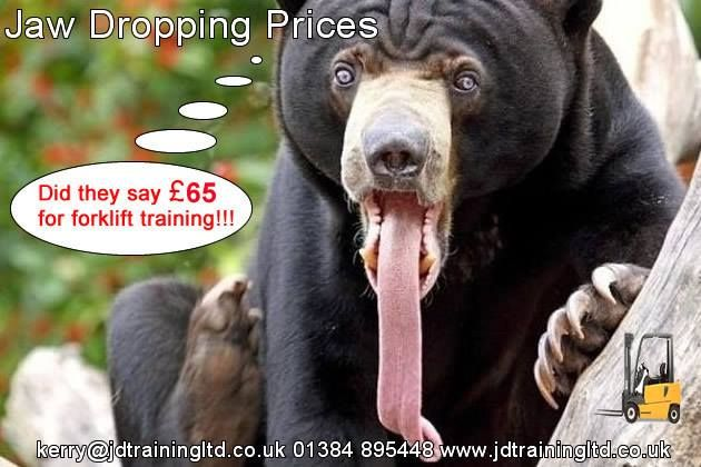 Jaw dropping forklift training prices at http://ift.tt/1HvuLik #forklift #training #safety #jobsearch