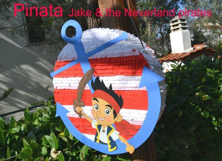 πινιάτα jake, pinata Jake and the neverland pirates  Πινιάτες οι αγαπημένες! (updated!) - Anthomeli