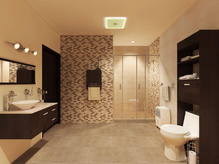 Los colores neutros son los más utilizados en baños debido a su calidez.