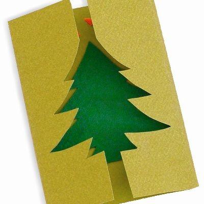 Χριστουγεννιάτικη Κάρτα με Έλατο : kidsfun.gr