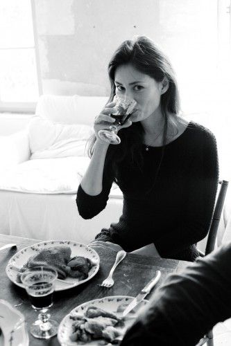 Mimi's TOP 5 Tips for Hostessing the French way: 1. Be elegant and understated 2. Always choose a beautiful wine-list for your guests 3. Always start with ice-cold champagne, served with home-made gruyère cheese puffs. 4. Write a hand-written menu for each guest 5. Take your time. Savour the moment. A good meal can last hours and hours.