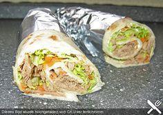 Thunfisch Wrap, ein raffiniertes Rezept aus der Kategorie Kalt. Bewertungen: 136. Durchschnitt: Ø 4,3.