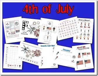 4th o fJuly Printable Pack