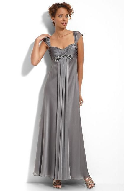 Yellow And Silver Wedding Dresses : Best images about bridesmaids in silver grey on