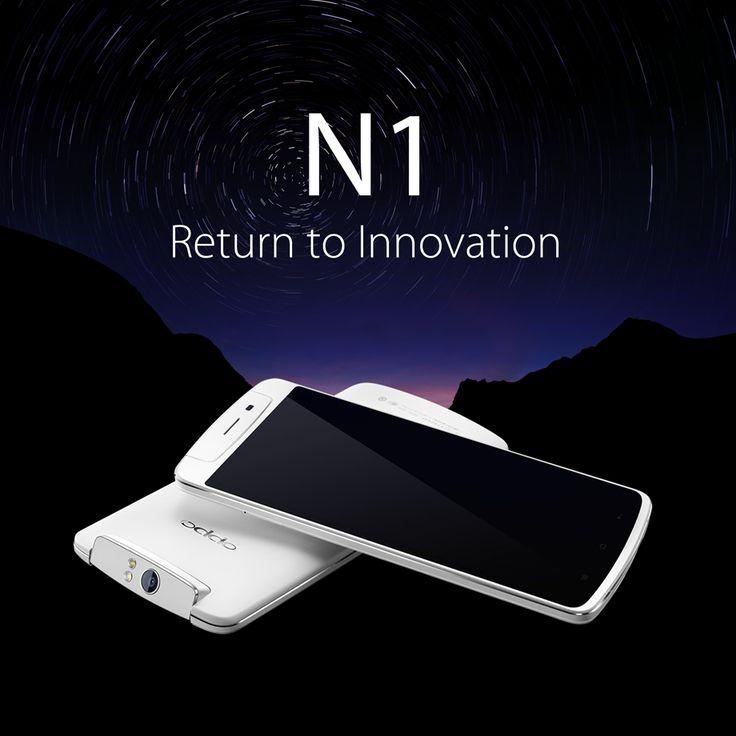 Return to Innovation. Meet the OPPO N1. #OPPON1 http://en.oppo.com/products/n1/