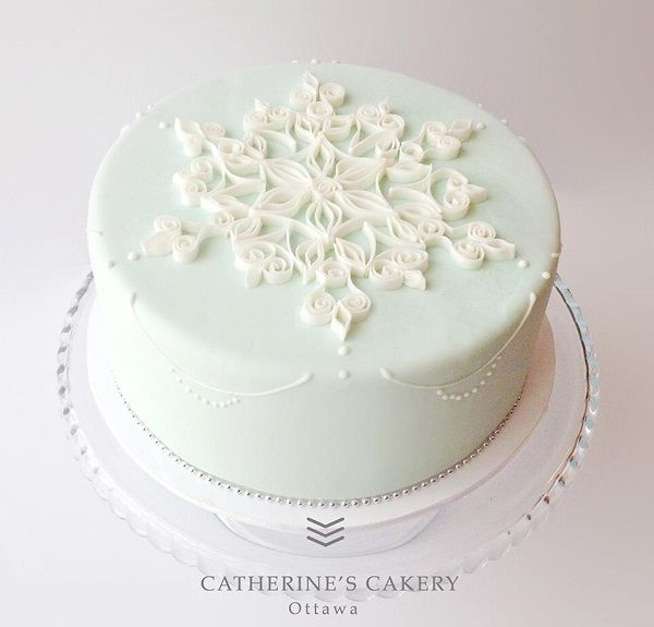 1000+ ideas about Snowflake Cake on Pinterest Frozen ...