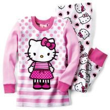 Hello Kitty Licensed 2-Piece Thermals 2014 Set for Kids from Sears Catalogue  $19.99