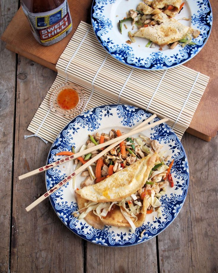 5:2 Diet Fast Day Recipe: Chinese Chicken Egg Roll Wraps (225 calories)