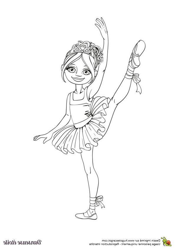 9 Nice Coloriage De Ballerina Gallery Coloriage Danseuse Coloriage Coloriage Barbie