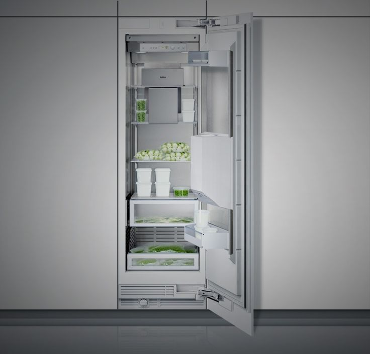 Vario Freezer 400 Series - All types of supplies can be cooled perfectly with the Vario RF 413/463 freezer. The large 4-star freezer compartment offers all the conveniences of modern refrigerated storage. The fully integratable device impresses therefore with features such as electronic temperature regulation from -14°C to -25°C, an illuminated dispenser for ice cubes, crushed ice and chilled water and energy efficiency class A+.