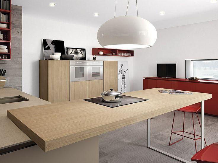 Focussed task lighting idea for the contemporarykitchen