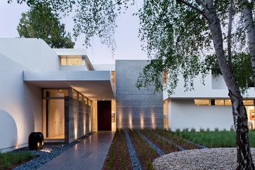 Modern Silicon Valley Home - modern - Exterior - San Francisco - Lencioni Construction