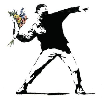 Copy any Banksy imagery in any way for any kind of personal amusement  Bansky http://www.banksy.co.uk/