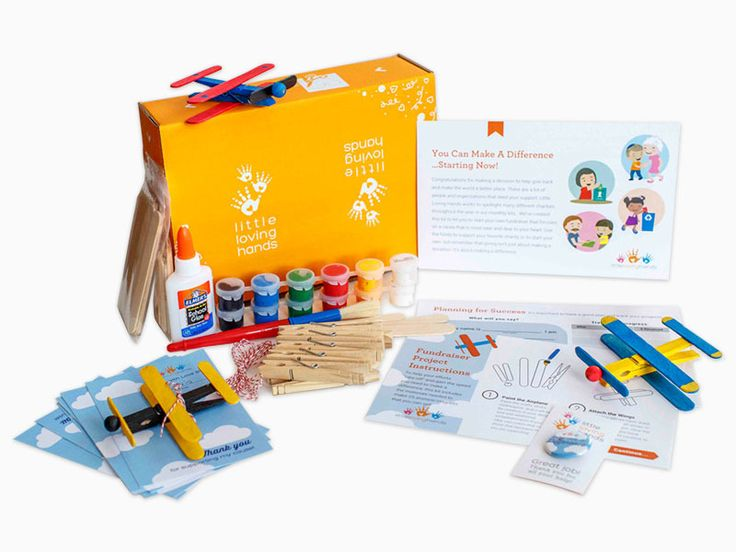Craft kits for kids: Living Loving Hands Fundraising Craft Kit