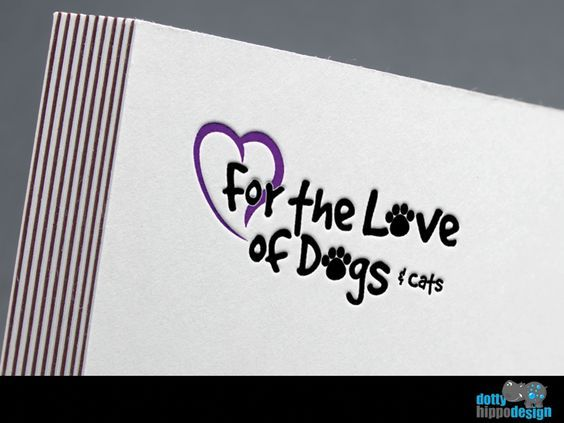 Logo design for For the Love of Dogs