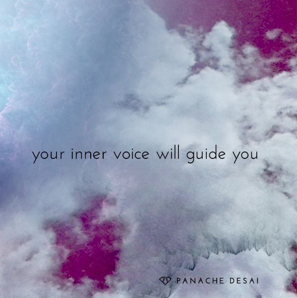 your inner voice....
