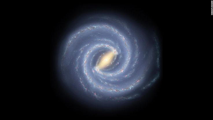 Our home galaxy, the Milky Way, is being pushed across the universe by a large unseen force, according to new research.