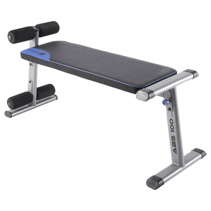 40 € FITNESS Fitness - Banc abdominaux abs 100 DOMYOS