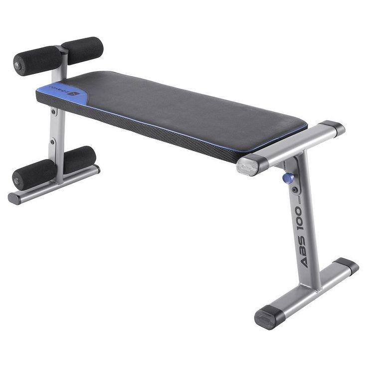 40 € FITNESS Fitness - Banc abdominaux abs 100 DOMYOS