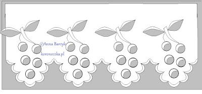 Strój ludowy i wzory haftów zamiast fartuszka