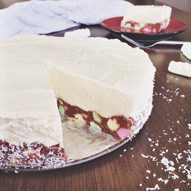 Lolly Log Cheesecake. This is nuts