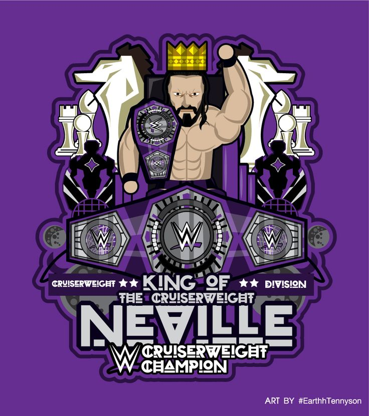 "WWE CRUISERWEIGHT CHAMPION - KING OF THE CRUISERWEIGHT ""NEVILLE"" #WWE #Neville #KingoftheCruiserweight #CruiserweightChampion #WWECruiserweightChampion #WWECruiserweightChampionship"