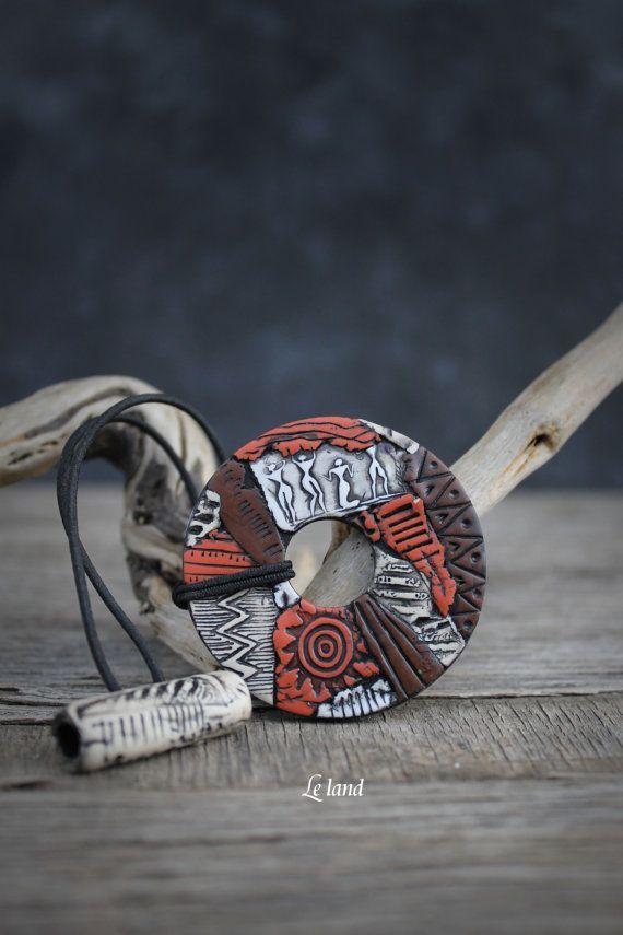 Dread cravate dreadlock titulaire africain par Lelandjewelry