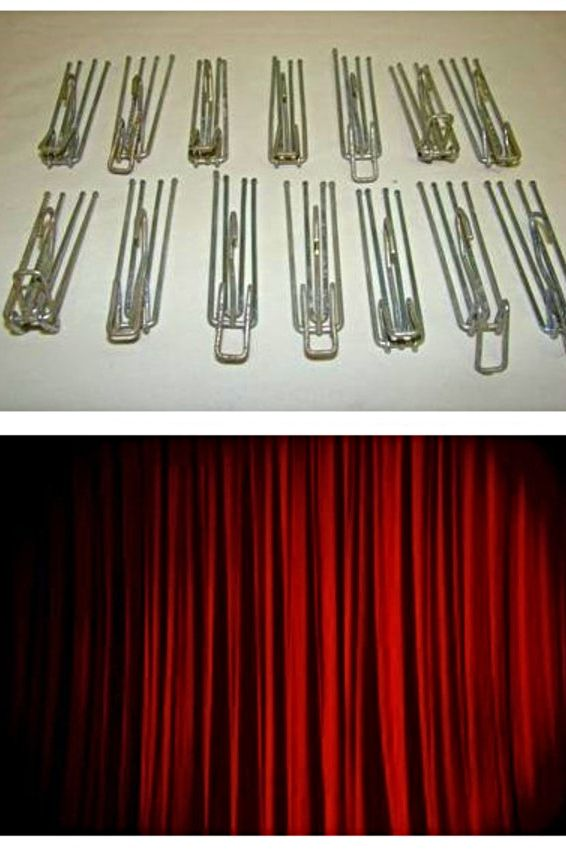 Curtains With Hooks In 2020 Curtain Hooks Hanging Curtain Rods