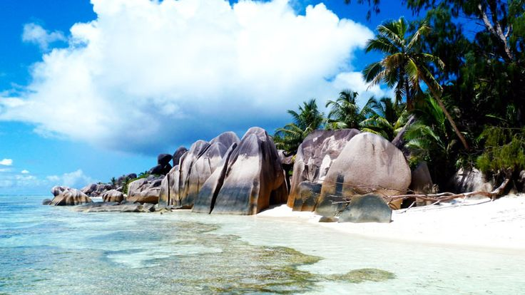 #Postcard from Anse Source d'Argent, most beautiful beach in the world - Seychelles